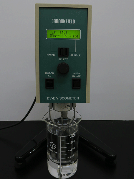 Viscosity testing machine